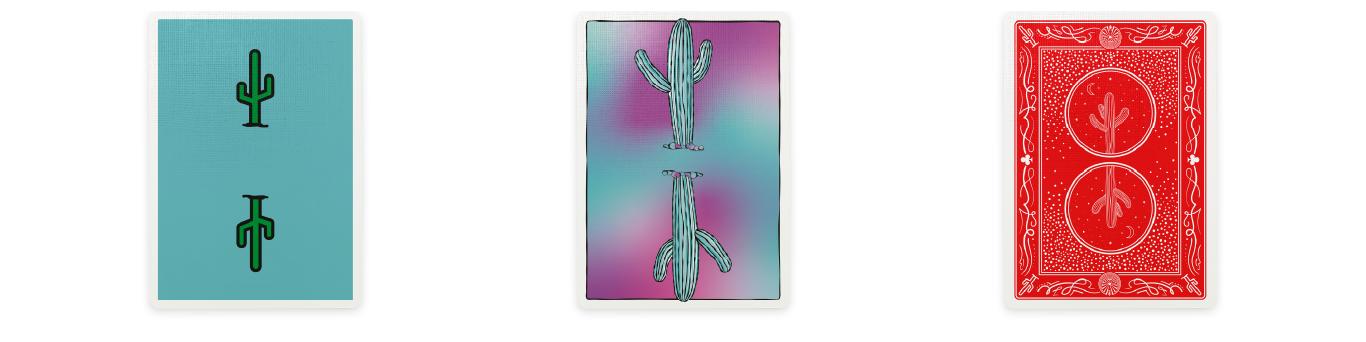 Cactus Playing Cards
